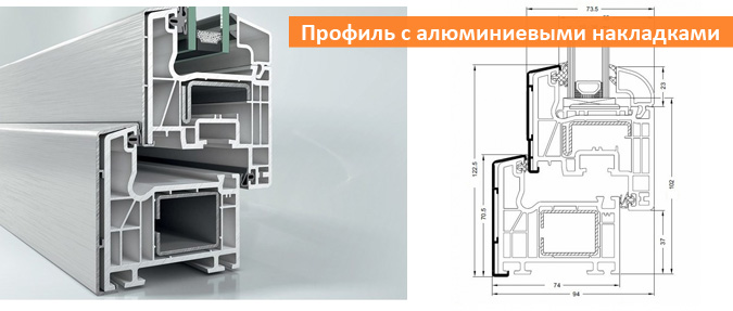 Профиль Schuco Corona CT 70 AS TopAlu